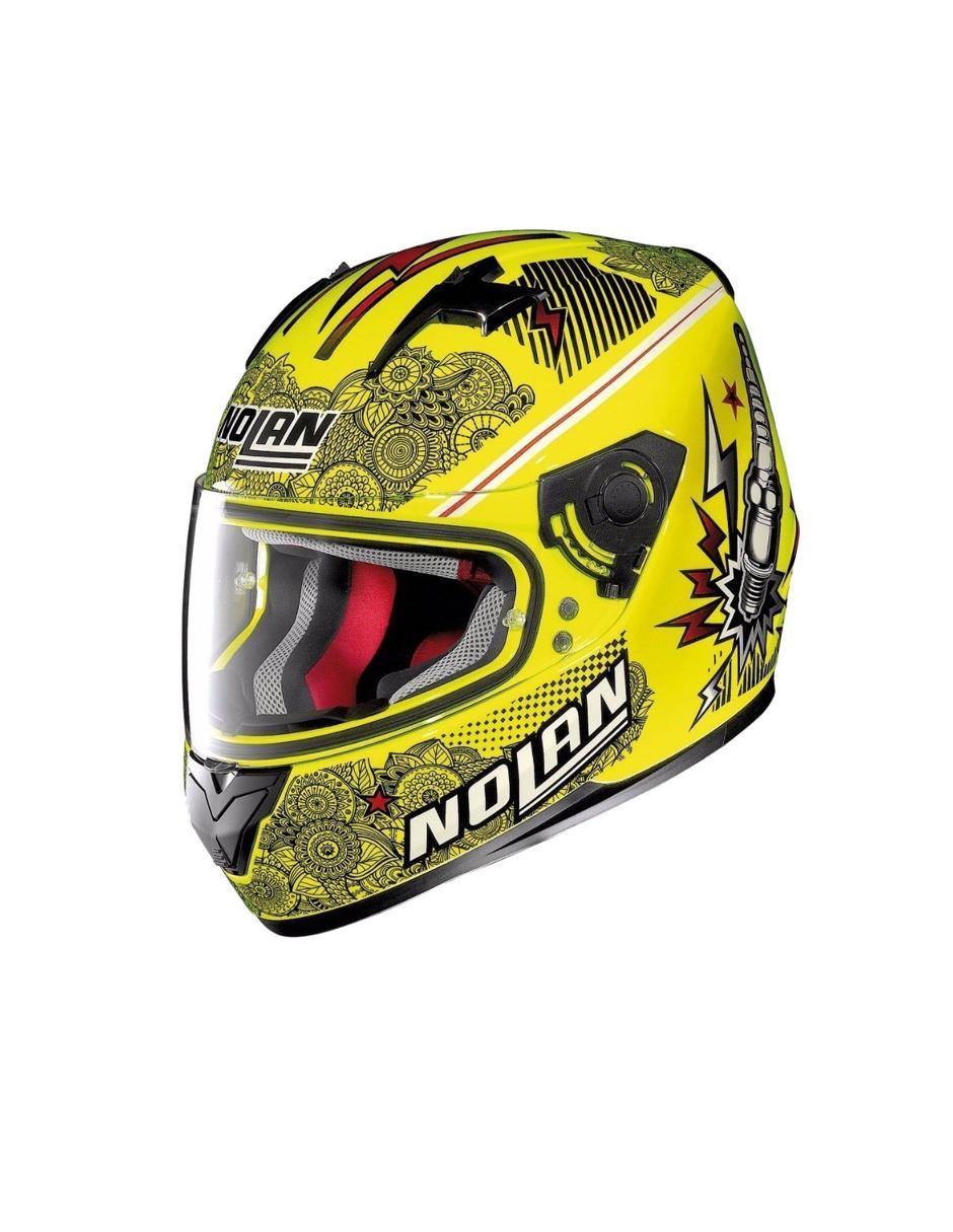 7b172279303d4 Casco Nolan N64 Lets Go motociclismo